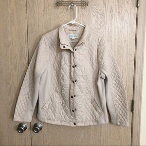 Cream Ava & Viv Puffer Jacket